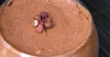 Mousse au chocolat au poivre de Sichuan