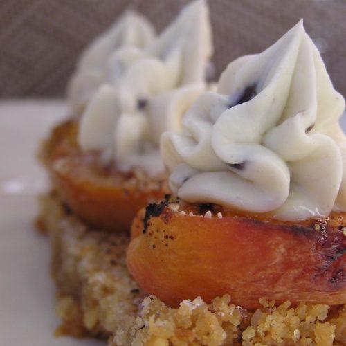 Tarte à l'abricot et crème à la lavande recette ultra simple