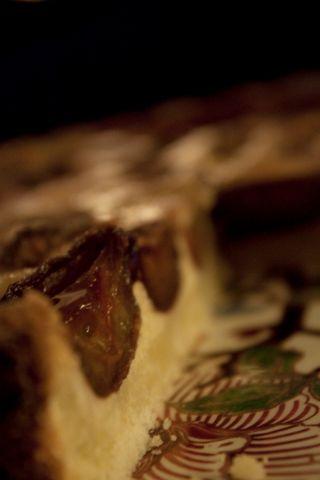 Tarte aux quetsches tarte d'hiver avec fruits congelés