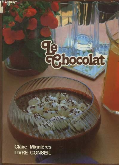 livre Le Chocolat de Claire Mignière