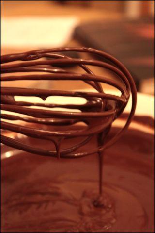 Tarte au chocolat et à la marmelade 2