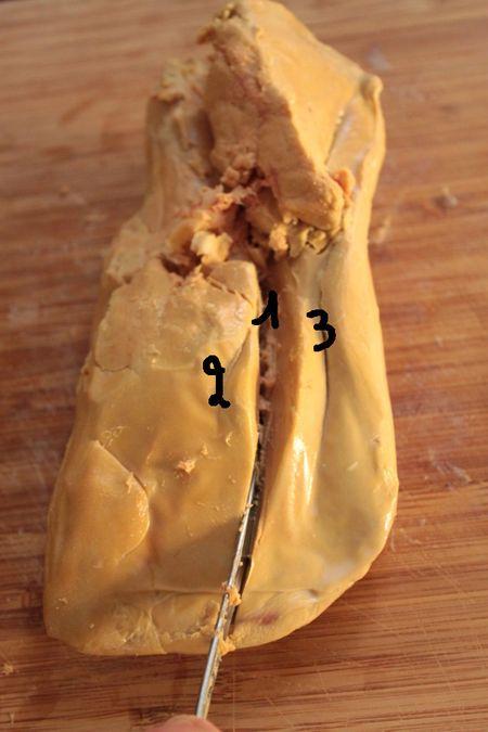 Préparer et déveiner un foie gras pas à pas 3