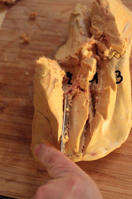 Préparer et déveiner un foie gras pas à pas 4