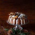 Ma recette traditionnelle de Christmas Cake ou Cake de Noël, le gâteau décoré pour Noël