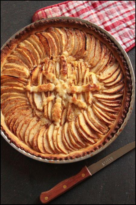 Tarte aux pommes gourmande 1