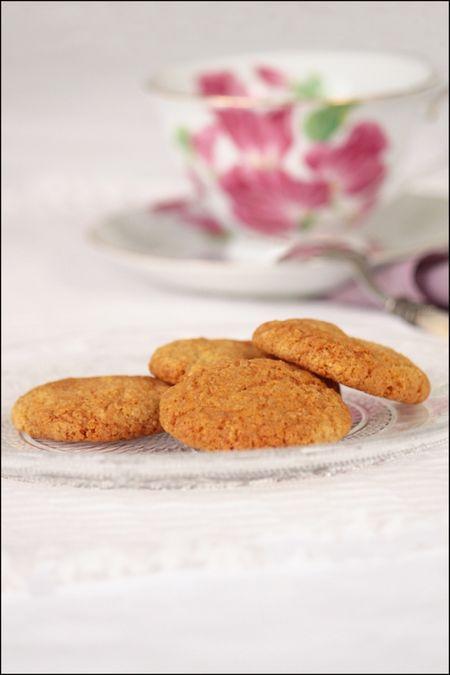 Biscuits au gingembre de Linda Collister