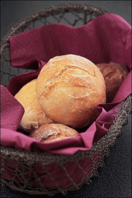 La recette de petites boules de pain individuelles