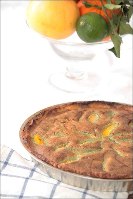 Tarte aux agrumes et à la pistache 1