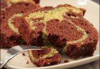 gâteau marbré au chocolat et à la pistache, la recette
