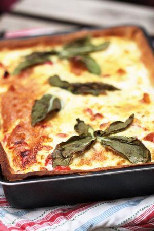 Tarte tomates cerises - mozzarella 3