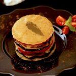 Mille-feuilles d'agneau recette orientale comme un sambousek