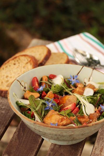 Salade de pousses au Pot'je vlesch 2
