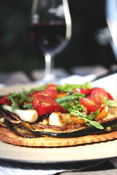 Tarte fine aux légumes grillés 3
