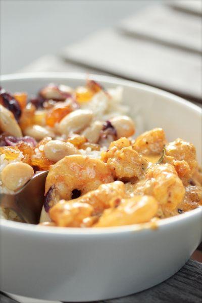 crevettes garam masala recettes