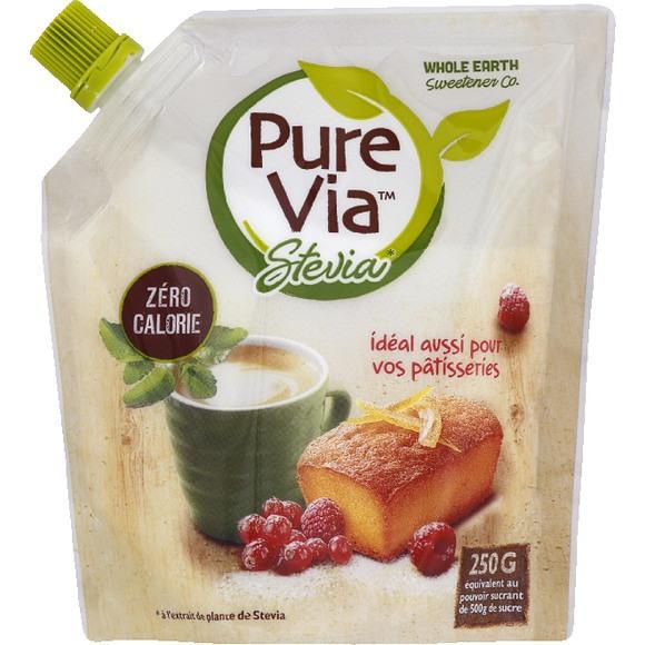 Edulcorant Pure Via à base de stévia