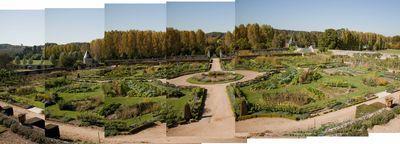 le potager du roi du Château Valmer