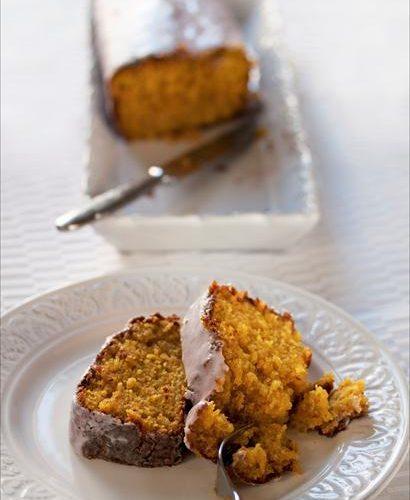 Cake au potiron et sirop de violette gagnez un lot gourmand gamm vert panier de saison - Cake au potiron sucre ...