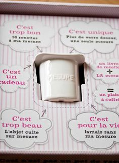 coffret sortie du livre de Marion Beilin Je cuisine avec un pot de yaourt éditions solar