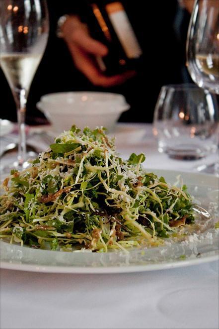 salade au pralin de noix jardin potager du château du Gros Chesnay à Fillé-sur-sarthe