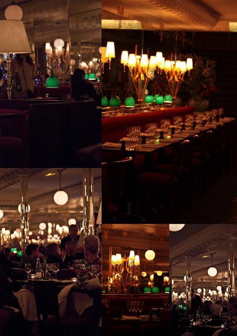 Carbonara de poireaux, un dîner chez Thoumieux, côté Brasserie 7