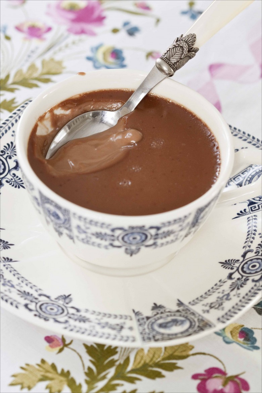 Crème au chocolat et fleur d'oranger gp