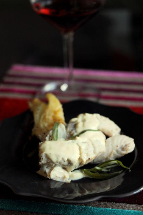Recette de lieu noir, fenouil braisé et crème au curry