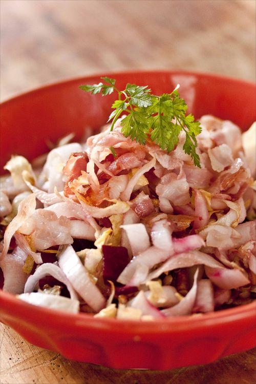 Salade endives, betteraves et pancetta 2