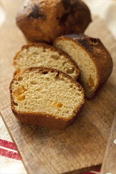 Brioche abricots séchés farine complète