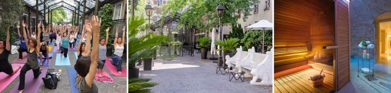 Bars et terrasses paris pour profiter du soleil l ombre panier de saison - Terrasse jardin marais villeurbanne ...