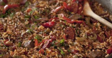 recette-paella-riz-agneau-chorizo