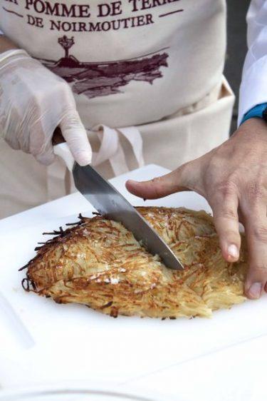Paillasson de pommes de terre et algues recette à partager
