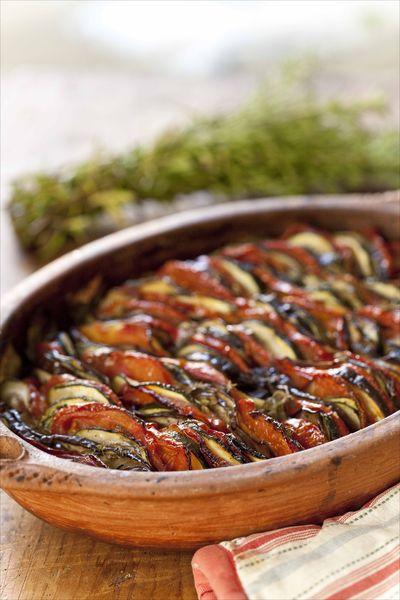 Ma recette et mes astuces pur réussir le tian à la Provençale ou tian de légumes aux herbes de Provence