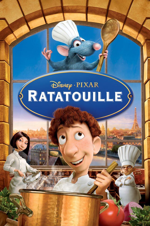 affiche du film Ratatouille de Pixar