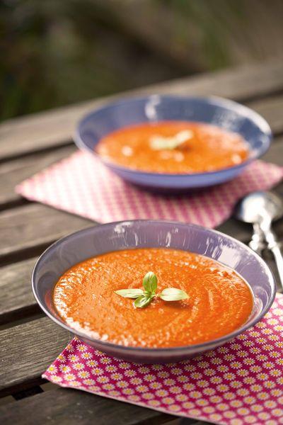 soupe glacée à la tomate recette d'été
