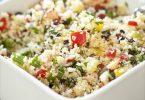 La recette du taboulé de semoule à la menthe et aux légumes croquants