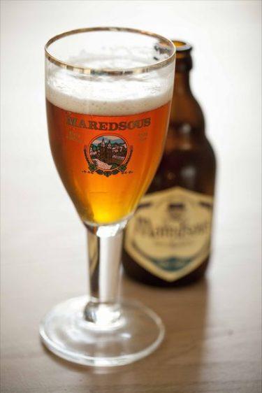 verre de bière Maredsous Duvel- Moortgat