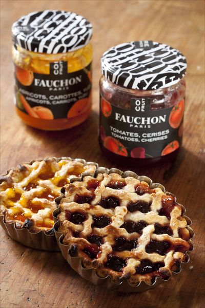 Tartelettes aux confitures fruits-légumes Fauchon