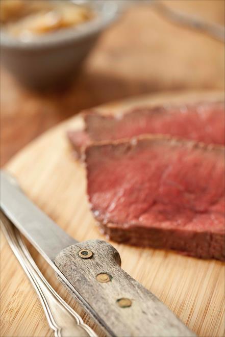 La cuisson du rosbif, temps et températures pour obtenir une viande saignante ou une viande bleue