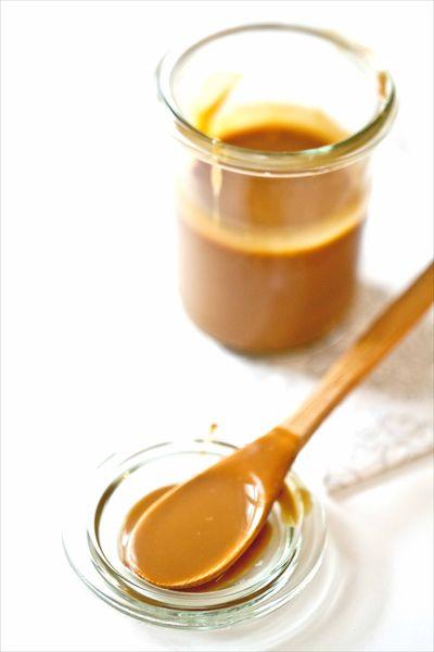 Sauce caramel beurre sal recette facile et rapide - Recette caramel beurre sale breton ...