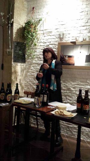 Rouelle de jambon à la bière ambrée, la bière de Noël Elisabeth Pierre