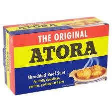 La graisse de rognons de boeuf en vermicelles de Atora