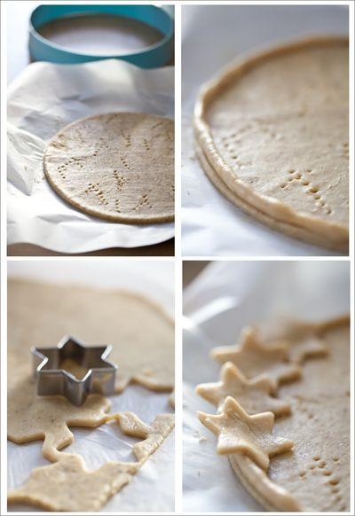 tarte sans moule aux poires et aux étoiles 2