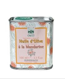 Huile d'olive à la mandarine d'Oliviers & co