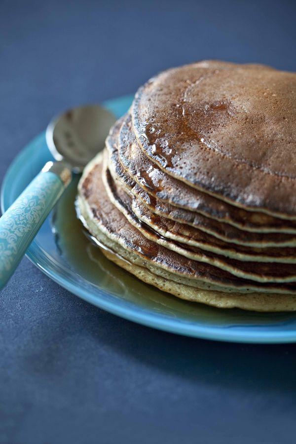 pancakes fleur oranger facile