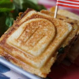 Croque-Monsieur Boursin® Oeufs Bacon 7