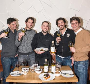 Samuel Urbain, Pierre-Julien Chantzios, Quentin Domange, Grégory Chantzios, Alexandre Urbain