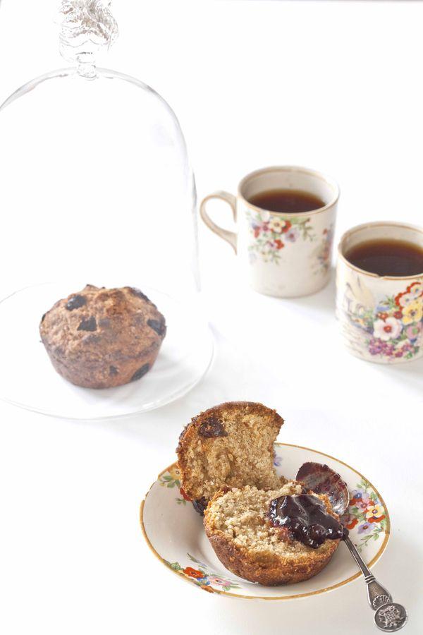 scones tout v g tal la farine compl te et aux raisins. Black Bedroom Furniture Sets. Home Design Ideas