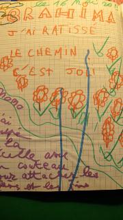 Un dessin d 'enfant de la Pitié Salpêtrière…