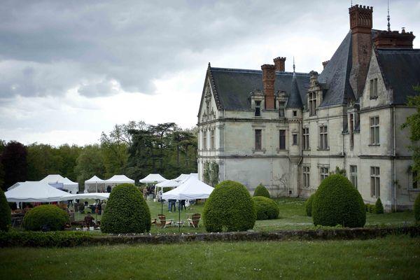 Château de la Bourdaisière fête des plantes 1