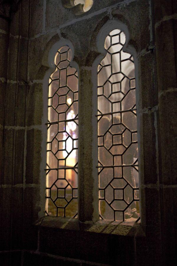 Entrée Cathédrale Saint-Corentin Quimper